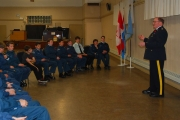 561 Osprey Royal Canadian Air Cadet Squadron welcomes guest speakers