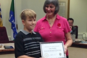 Local 'Champ' Fraser Packham recognized Nelson Mayor