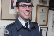 Osprey Air Cadet receives Long Service Award