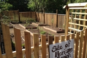 Heritage Garden gets growing at the Le Roi Mine