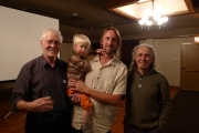Don Vockeroff , Brian Coulter and Son, Barry Blanchard