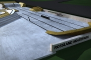 The future Rossland skatepark in 3D