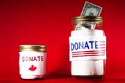 The study finds that 21.3 per cent of Canadian tax filers claimed charitable donations in 2014, the last year of available data, down from 25.1 per cent in 2004.