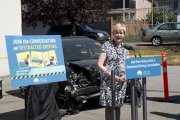 Attorney General and Minister of Justice Suzanne Anton is asking for public input on fines for distracted drivers.