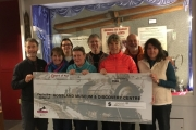 The Spirit of Red Social Club supports the Rossland Museum Renewal project with a  donation of $2000 to help close the funding gap needed for Phase I
