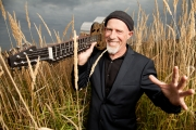 Local favourite blues musician Harry Manx returns to the Miners' Hall