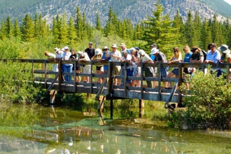 A group of tours the Upper Columbia watershed.