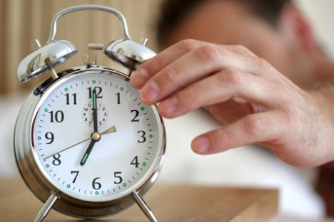 Be aware of how your body adapts to the time change.