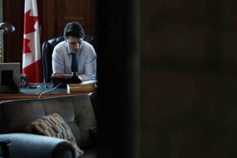 Image:  Prime Minister Justin Trudeau via Prime Minister's Photo Gallery