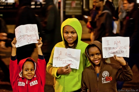 "US: ""I am Trayvon Martin"""