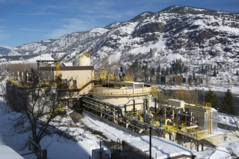 Teck Trail Operations Completes Construction of Groundwater Treatment Plant
